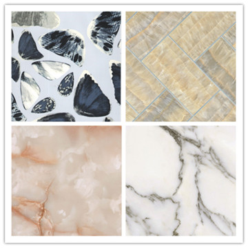 Competitive Price for Faux Marble Wall Panel Interior Decoration PVC UV Marble Wall Panel supply to Saint Vincent and the Grenadines Supplier