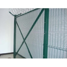 PVC Coated And Galvanized 358 Security Fence