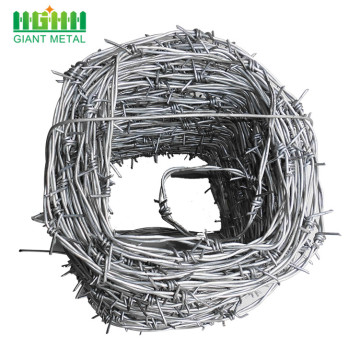 PVC coated barded wire