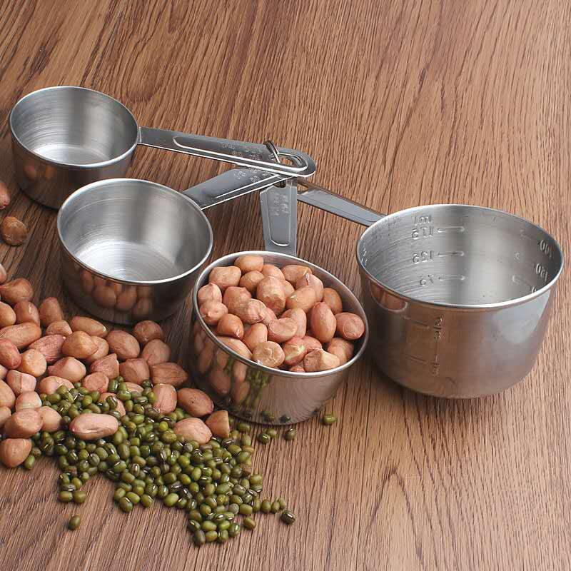 Charming Stainless Steel Measuring cup set