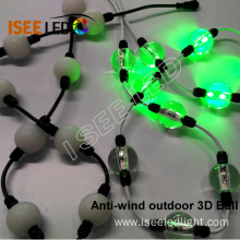 Outdoor Decorative DMX RGB Led 3D Ball String