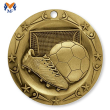 Renewable Design for Football Medal Buy metal gold soccer sports medal for sale export to Monaco Suppliers