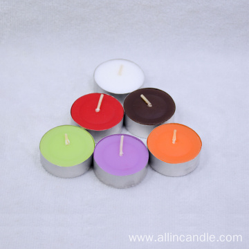 Popular Colorful Valentine's Day Tealight Candle