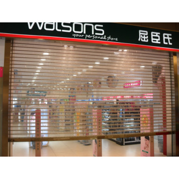 Commercial Transparent Crystal Roller Shutter Door