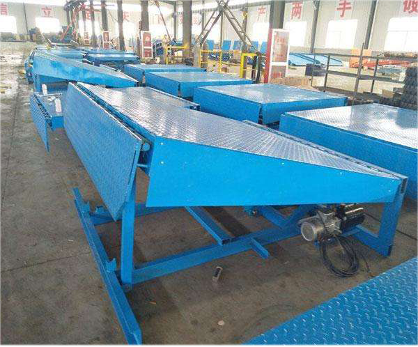 Moveable Dock Ramp For Container Leveller