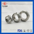 Food grade stainless steel SMS union with seals
