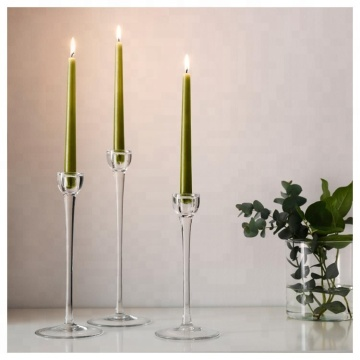 Clean Burning Tall Color Dripless Taper Candles