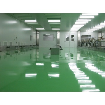 Liquid epoxy self-leveling paint for laboratory