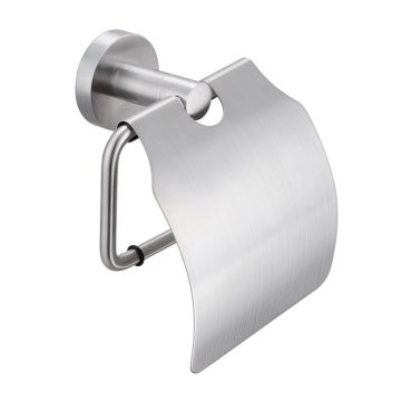 Stainless Steel Toilet Roll Paper Rack With Cover
