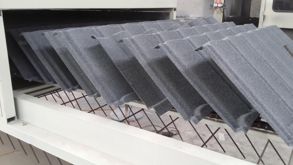 Stone Coated Roof Production Line for Stone Coated Metal Roofing Product Line