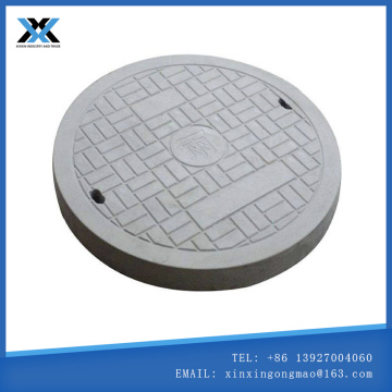 round cement manhole cover