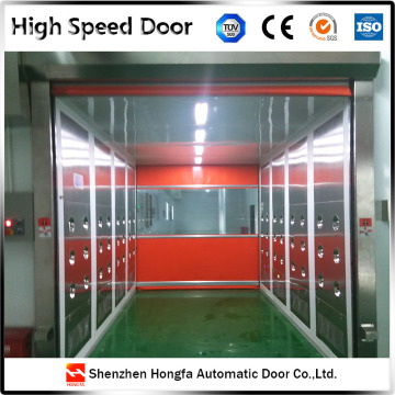 PVC Industrial  Roll up High Speed Door