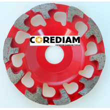 China for China Profiled Segment Cup Whee, T Segment Cup Wheel, L Segment Cup Wheel, F Segment Cup Wheel 115mm T segment Grinding Cup Wheel supply to Mauritania Manufacturer