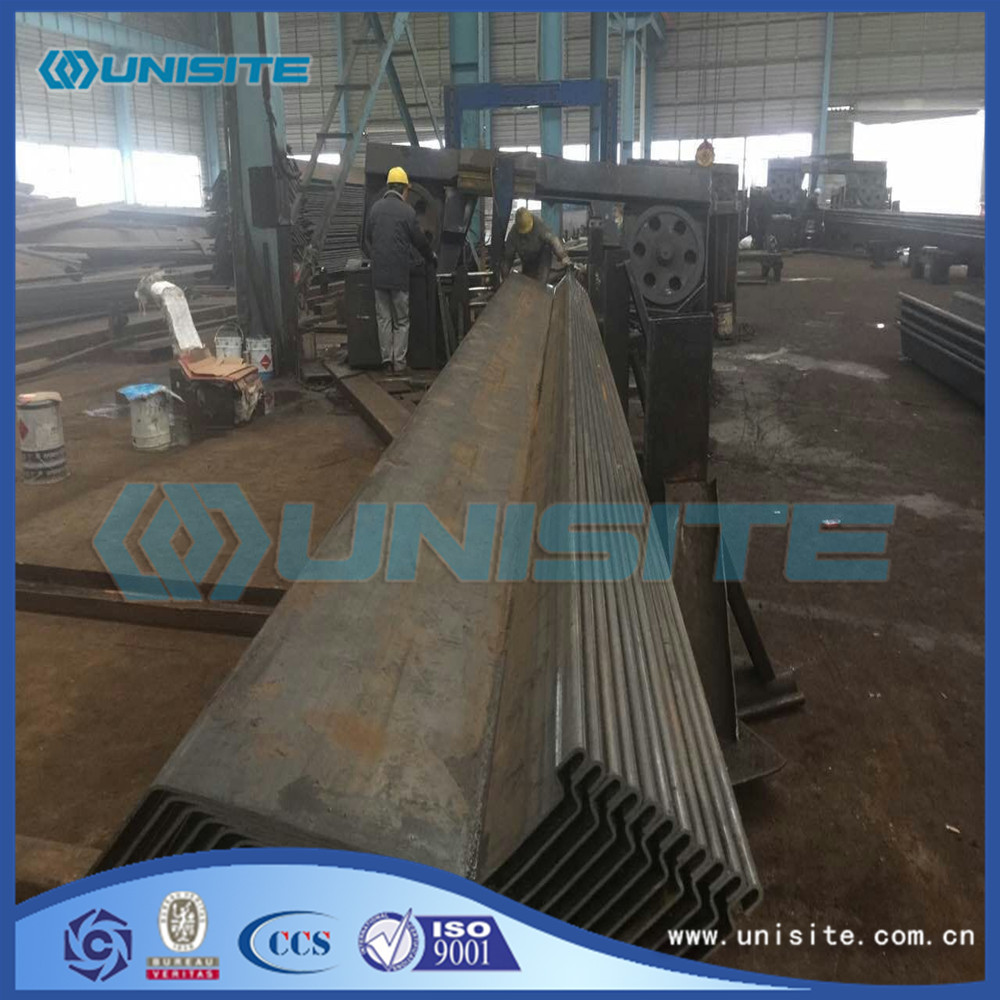 Cantilever Sheet Pile Wall for sale