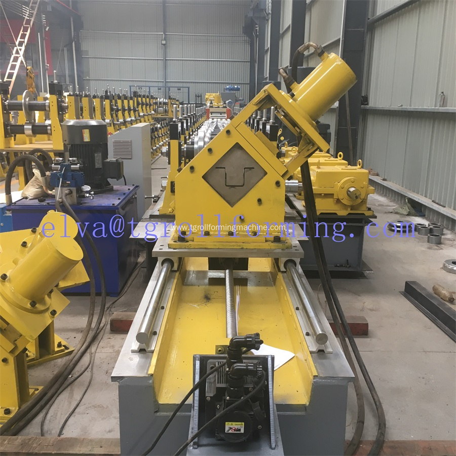 Botou C Z Omega purlin roll forming machine