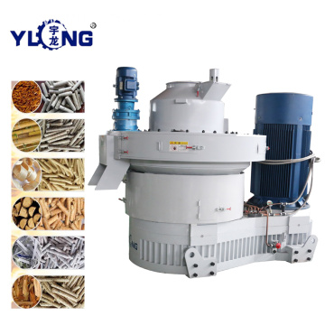 Yulong 1.5-2t/h efb pellet line in malaysia
