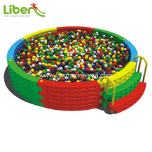 Plastic ball pool for kids