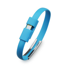 New Fashion Design for Leather Charger Bracelet Wholesale micro usb charger bracelet iphone supply to Netherlands Suppliers