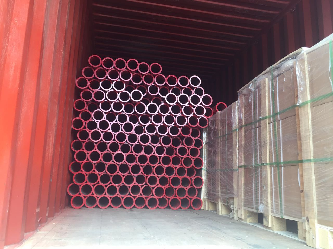 concrete pump pipe package