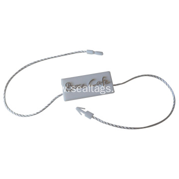 personalized Plastic Garment hang tag string seal