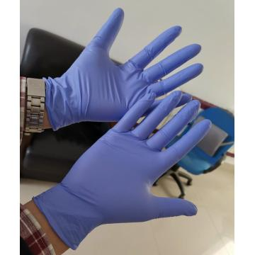 Powder Free Nitrile Medical Gloves