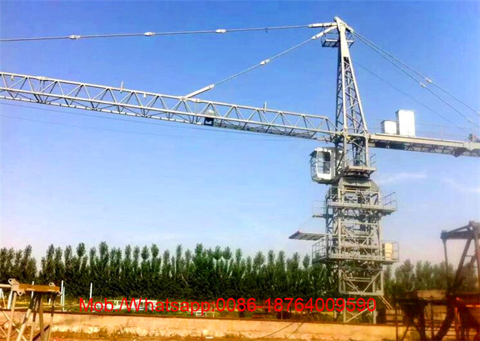 Construction Machinery 6T Top Kits Tower Crane