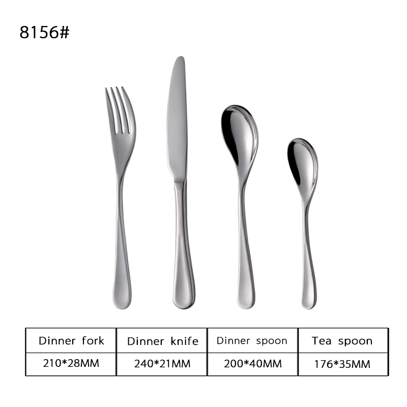 16PCS Stainless Steel Flatware Set