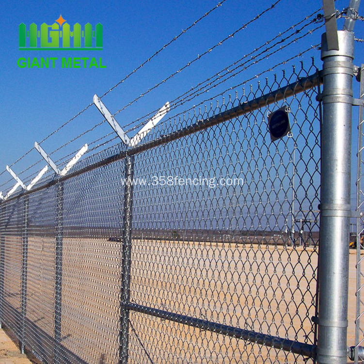 Low Price Galvanized Chain Link Fence For Sale