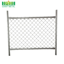 Galvanized Temporary Used Construction Chain Link Fence