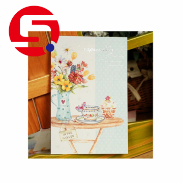 Tri folded postcard printing paper cards