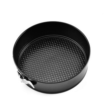 Non-stick custom made baking pans with round shape