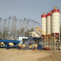HZS75 automatic mixing electrical concrete batching plant
