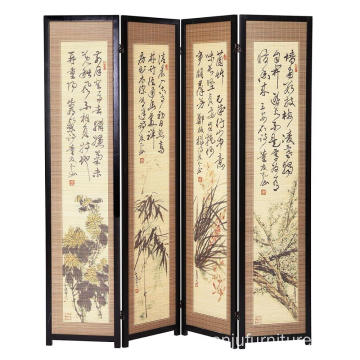 Chinese Hand Painted Room Dividers 18th Century Art Screen
