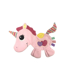 Baby Comfort Towel Unicorn Pink With Stripe