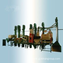 Rice Milling Process Machine