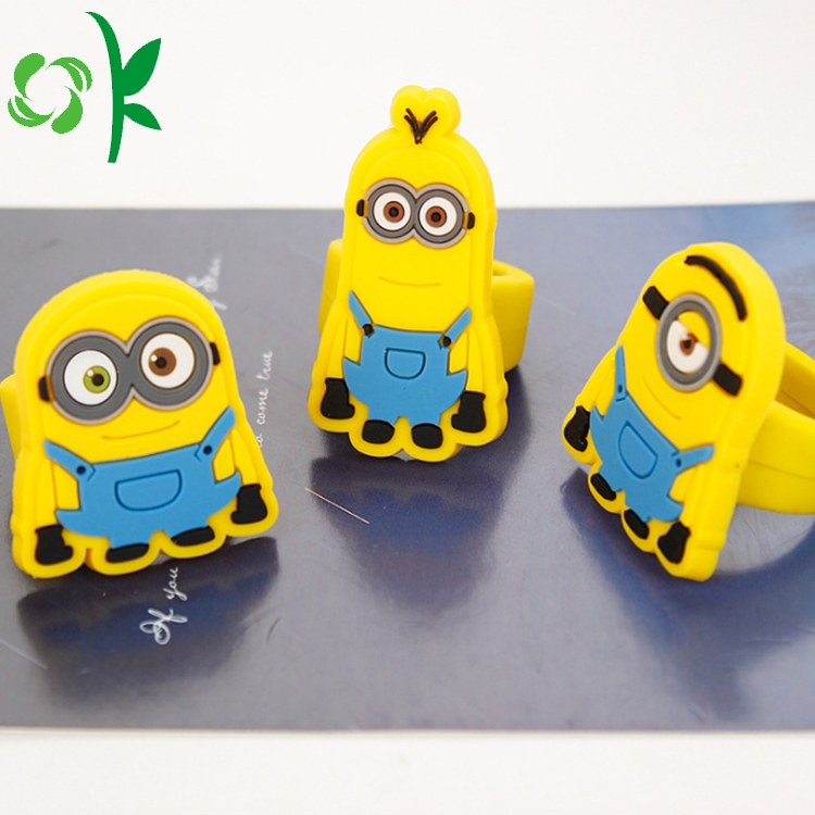 cartoon silicone ring
