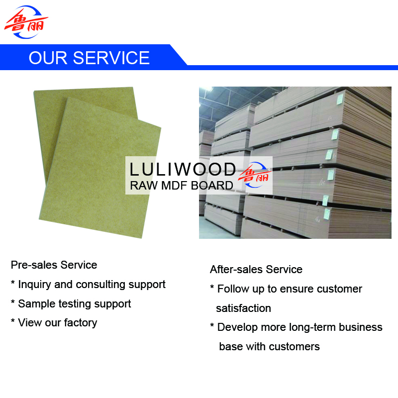 luliwood raw mdf board of sally 2