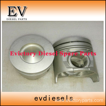 ISUZU engine parts piston 4HK1 piston ring