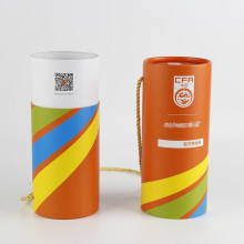 Printing Logo Custom Electronic Product Packaging Tube Box