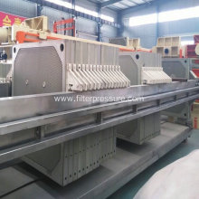 Paper Industry Cast Iron Filter Press Automatic Wash
