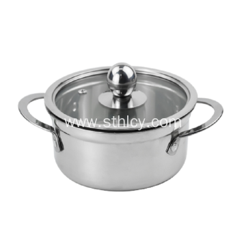 Stainless Steel Kitchen Cookware Milk Pot