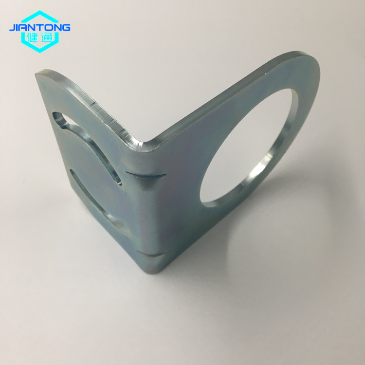 custom zinc plated sheet metal bending stamped part