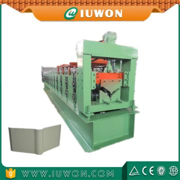 Steel Roof Tile Ridge Cap Roll Forming Machine