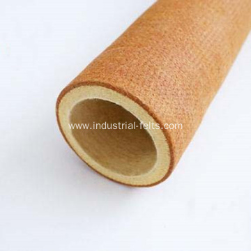 PBO+Kevlar Felt Tubes Fabric For Aluminium Extrusion