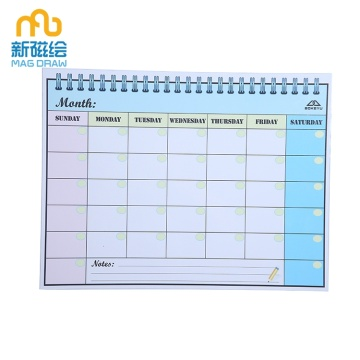 Magnetic Menu Dry Erase Weekly Meal Planner