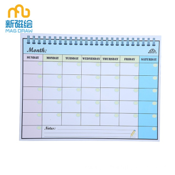 Small Magnetic Dry Erase Schedule Board for Kids