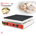 mini parrilla eléctrica de poffertjes con acero inoxidable