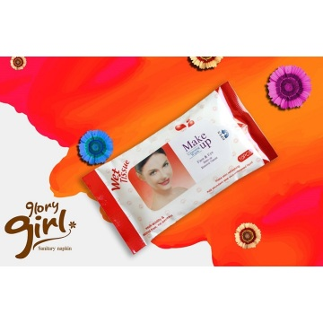 Super Soft individual non woven wet wipes