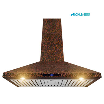 Wall Mount  In Embossed Copper RangeHood