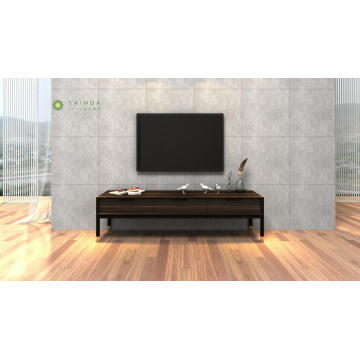 Medium Height Dark Wenge TV Stand